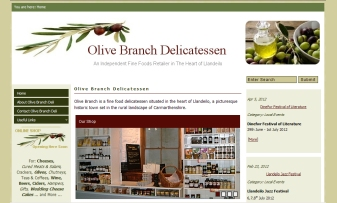 Olive Branch Delicatessen Online SHop (in development)